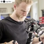INSTAGRAM:  @sqr.film in deep focus getting that shot using our #Cametv #Single #Gimbal on a recent project! #CametvSingle #Camegimbal #SingleGimbal #3axisgimbal #camegimbalsnap5 #sony