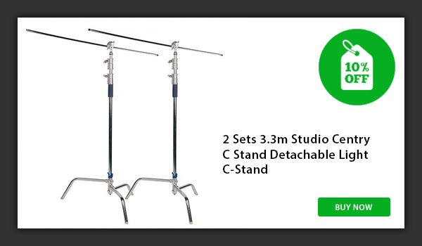 CAME-TV 2 set C-Stands