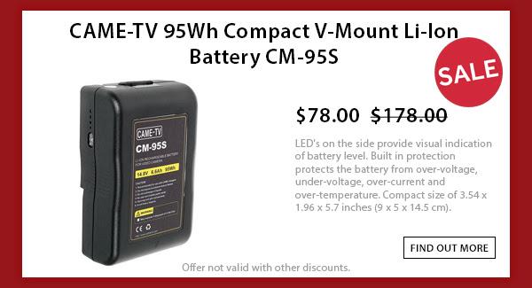CAME-TV 95wh V-mount