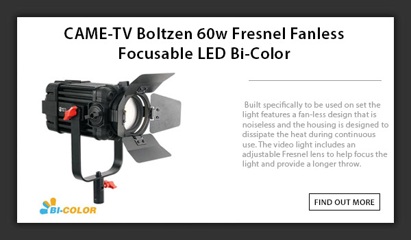 CAME-TV Boltzen 60w Led Fresnel Light
