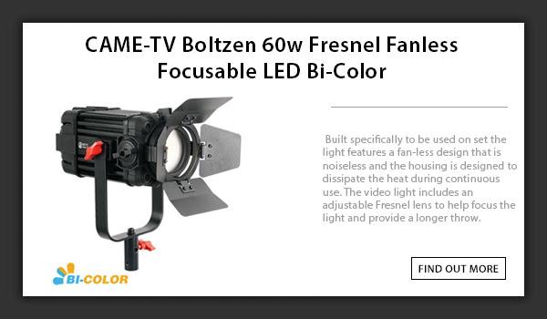 CAME-TV Boltzen 60w Led Fresnel Light
