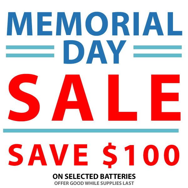CAME-TV Memorial Day Sale 2018