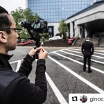 INSTAGRAM: Awesome BTS pic of @ginocarpionyc filming a promo video using our #Cametv #Single #Gimbal! #Cametvsingle #Singlegimbal #3axisgimbal #singlesnap1 #camegimbalsnap5 #3axis