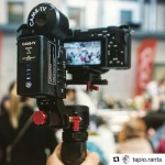 INSTAGRAM: @tapio.ranta recently filmed a food event using his #Cametv #Optimus #Gimbal paired with the #Sony #a6300! #CametvOptimus #Cameoptimus #Sonya6300 #Optimusgimbal