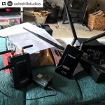 INSTAGRAM: @coleshillstudios recently picked up our #Cametv #Crystal800 #Wireless #Transmitter for his wirecam! #Hdmi #Wirecam #WirelessTransmitter