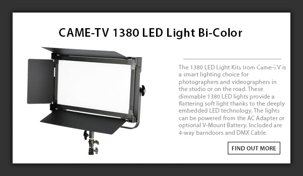 CAME-TV 1380. LED Light Bi-Color