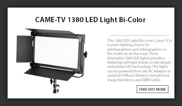 CAME-TV 1380. LED Light Bi-Color