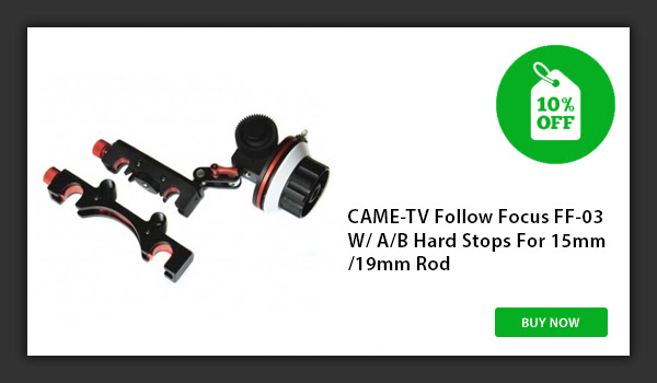CAME-TV Follow Focus