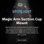 CAME-TV - Spotlight Magic Arm Suction Cup Mount