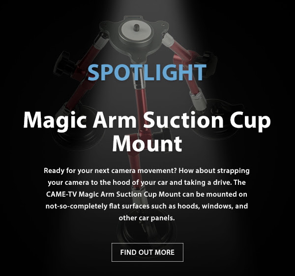CAME-TV Magic Arm Suction Cup