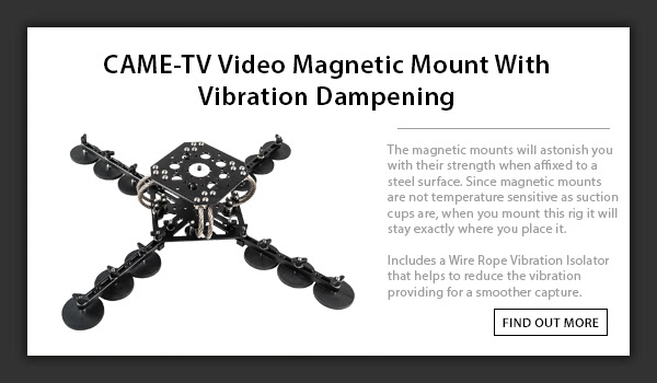 CAME-TV Magnetic Car Mount