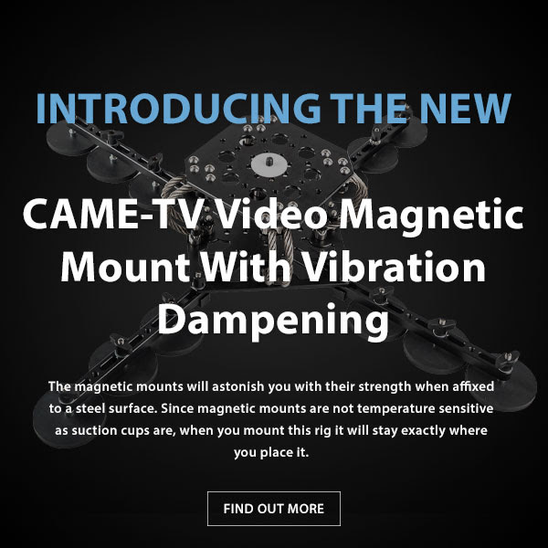 CAME-TV Magnetic Mount