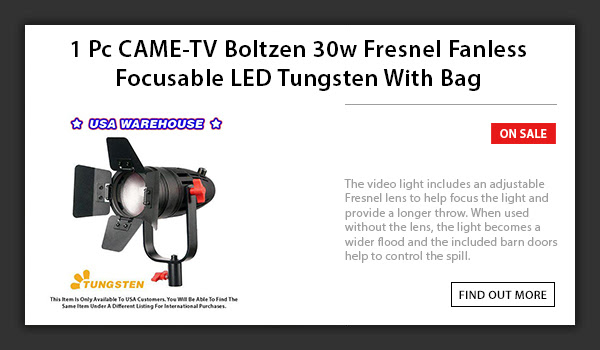CAME-TV Boltzen 30w LED Light