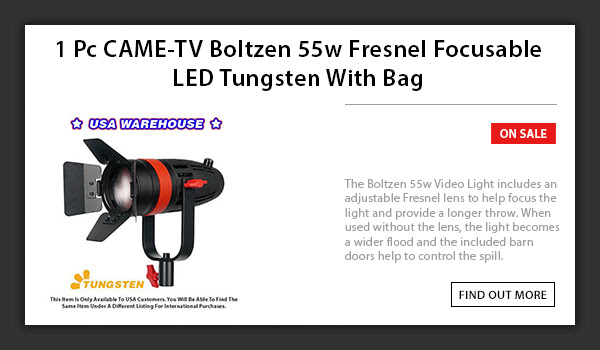 CAME-TV Boltzen 55w LED Light