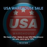 CAME-TV – USA Warehouse Sale!