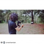 INSTAGRAM:  Awesome #BTS pic of @izmerhamdan out filming with the #Cametv #Optimus #Gimbal! Thank you for the support! #CametvOptimus #optimusGimbal #3axisGimbal #optimussnap3 #camegimbalsnap5 #Cameoptimus