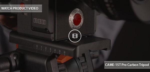 CAME-TV 15T Pro Carbon Tripod