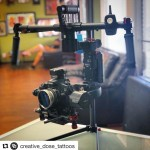 INSTAGRAM:  @creative_dose_tattoos posted this pic of his new #Cametv #Argo #Gimbal he just received! Thanks for the support! #Canon60D #Canon #60D #CametvArgo #CameArgo #3axisgimbal #argogimbal