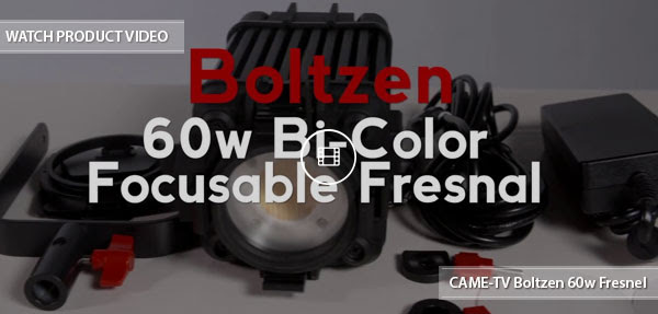 CAME-TV Boltzen Bi-Color Fresnel Light