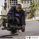 INSTAGRAM:  @vassdavillo posted this pic of him posing with his #Cametv #Prodigy #Gimbal setup paired with the #Blackmagicdesign #UrsaMini 4.6k! #Cametvprodigy #prodigygimbal #ursa #camegimbalsnap5 #3axis