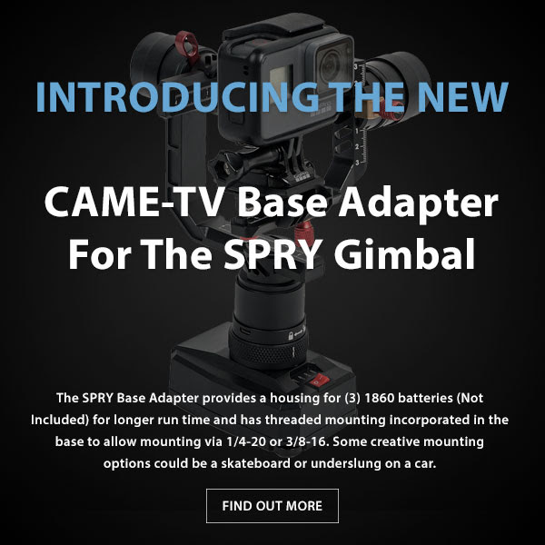 CAME-TV Spry Gimbal Base Adapter