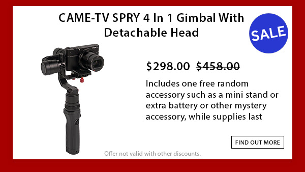 CAME-TV Spry Gimbal