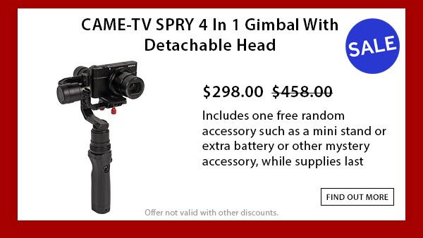 CAME-TV Spry Gimbal
