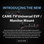 CAME-TV – New Universal EVF / Monitor Mount