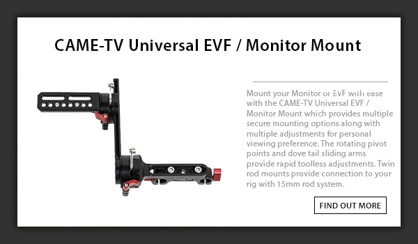 CAME-TV Universal EVF Mount