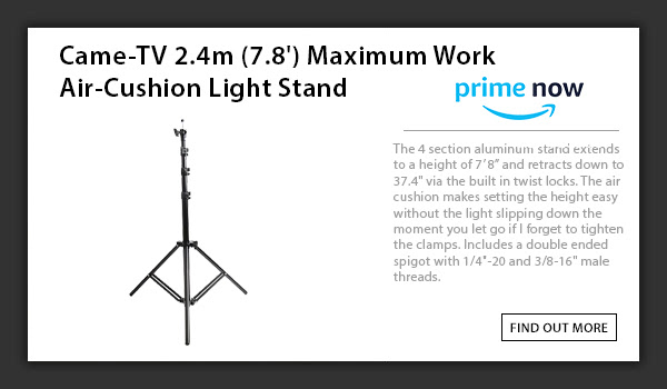 CAME-TV Air Cushion Light Stand