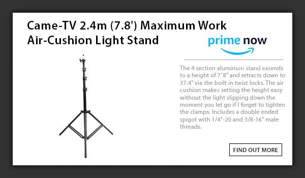 CAME-TV Air Cushion Light Stand