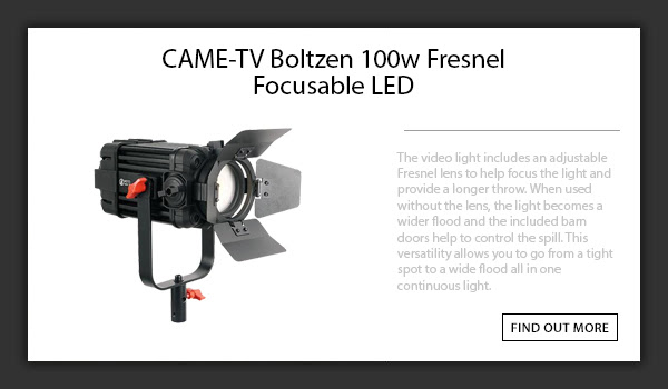CAME-TV Boltzen 100w Light