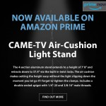 CAME-TV – Air-Cushion Light Stand Available on Amazon Prime