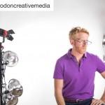 INSTAGRAM: @brodoncreativemedia shared this #bts photo of their #interview setup using our #Cametv #Boltzen 55w #Led #fresnel #lights for lighting! #Boltzenlight #boltzensnap1 #ledlight #fresnellight #ledfresnel #boltzenled
