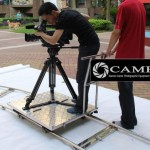 CAME-TV Floor Dolly Test and Quick Review By DysnomiaFilms
