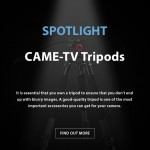 CAME-TV – Spotlight Tripods