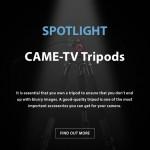 CAME-TV - Spotlight Tripods