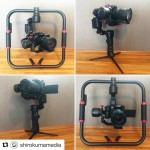 INSTAGRAM: @shirokumamedia posted this pic of him showing off his new #Cametv #Prophet #Gimbal setup! Thanks for the support! #PanasonicGh4 #Cametvprophet #prophetgimbal #camegimbalsnap5 #cameprophet #panasonic #gh4 #3axis