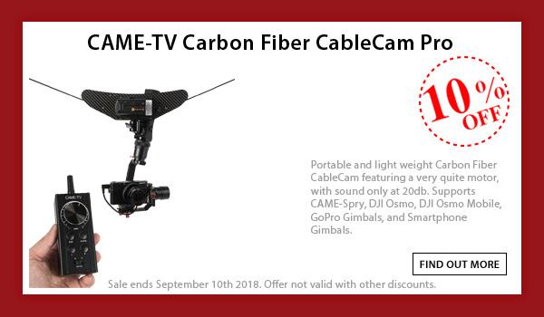 CAME-TV Carbon Fiber CableCam