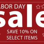 CAME-TV – Labor Day Sale!