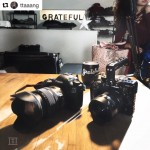 INSTAGRAM: @ttaaang recently uploaded this pic of his #Panasonic #GH5 setup using our #Cametv #Protective #Cage designed for the GH5! #CametvCage #PanasonicGH5 #Camecage #Gh5Cage