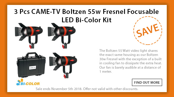 CAME-TV Boltzen 3pcs Bicolor