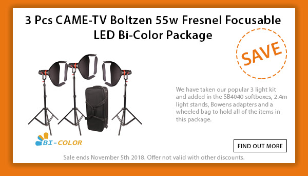CAME-TV Boltzen 3pcs Package