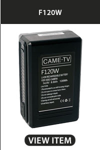 CAME-TV F120W V-Mount