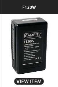 CAME-TV F120W V-Mount