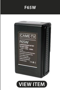 CAME-TV F65W V-Mount