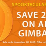CAME-TV – Spooktacular Sale, Save on Gimbals and 55W Boltzen