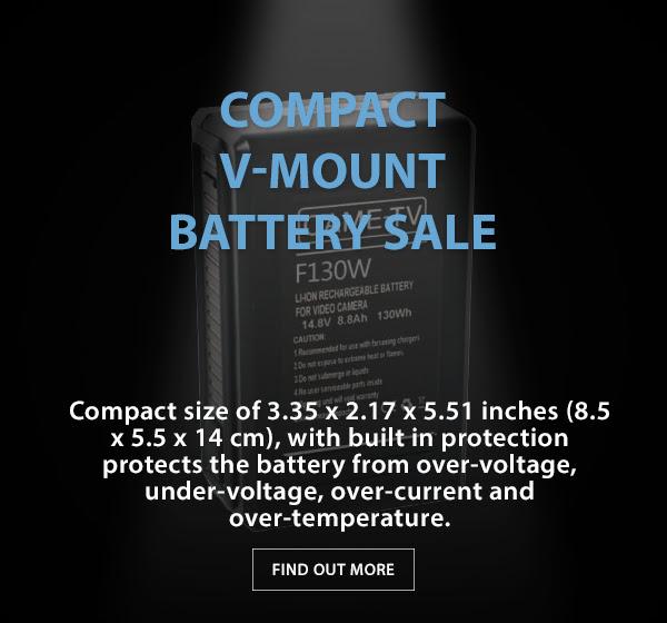 CAME-TV V-Mount Battery