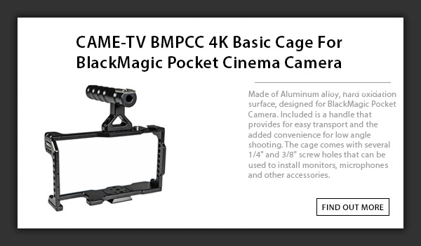 bmpcc 4k cages