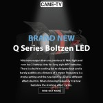 CAME-TV - New Boltzen Q Series LED Video Lights